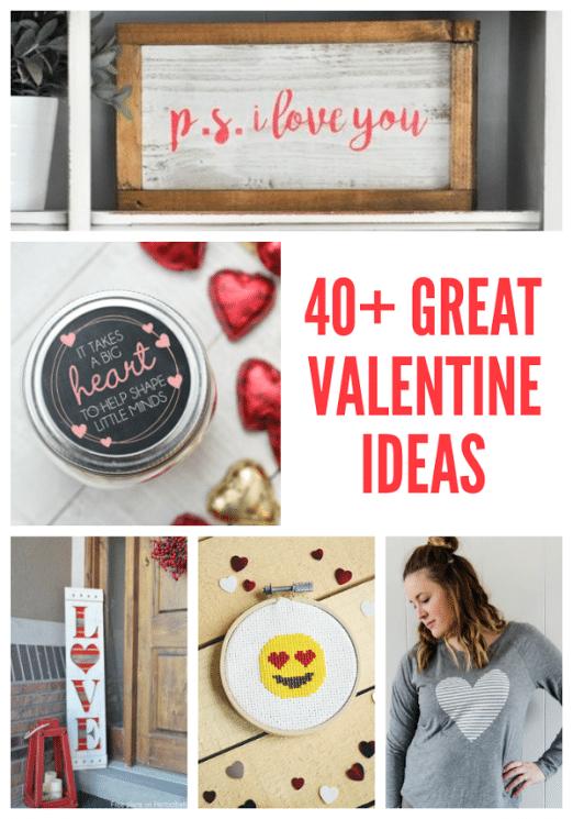 40+ Creative Valentine Ideas | Free Printables | Gift Ideas | Home Decor