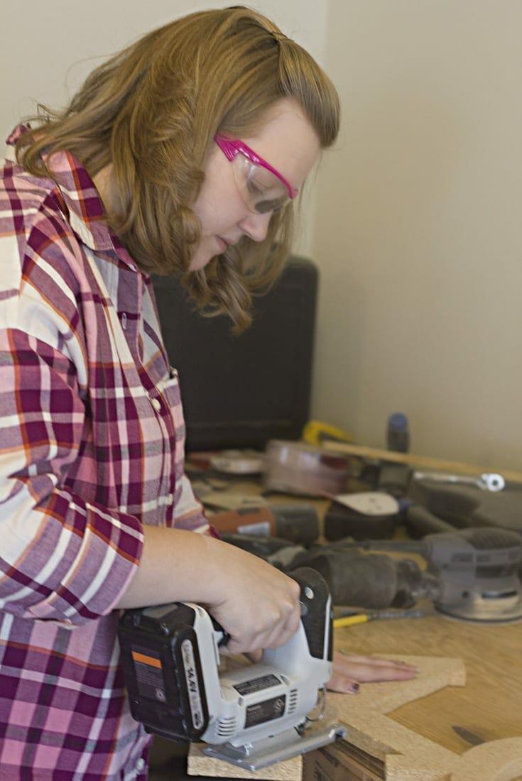 XO Valentine DIY Decor   Creative Project   Home Decor