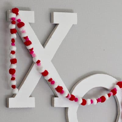 DIY XO Valentine Decor Tutorial