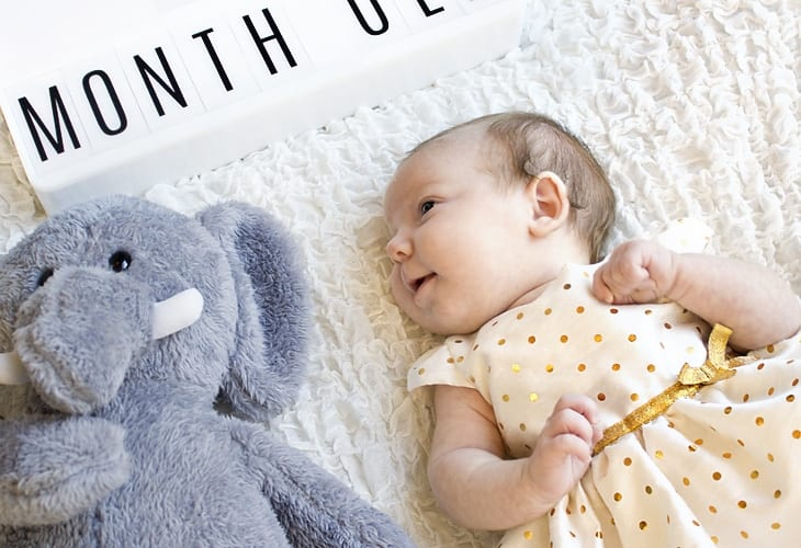 Maggie Grace — One Month Baby Update