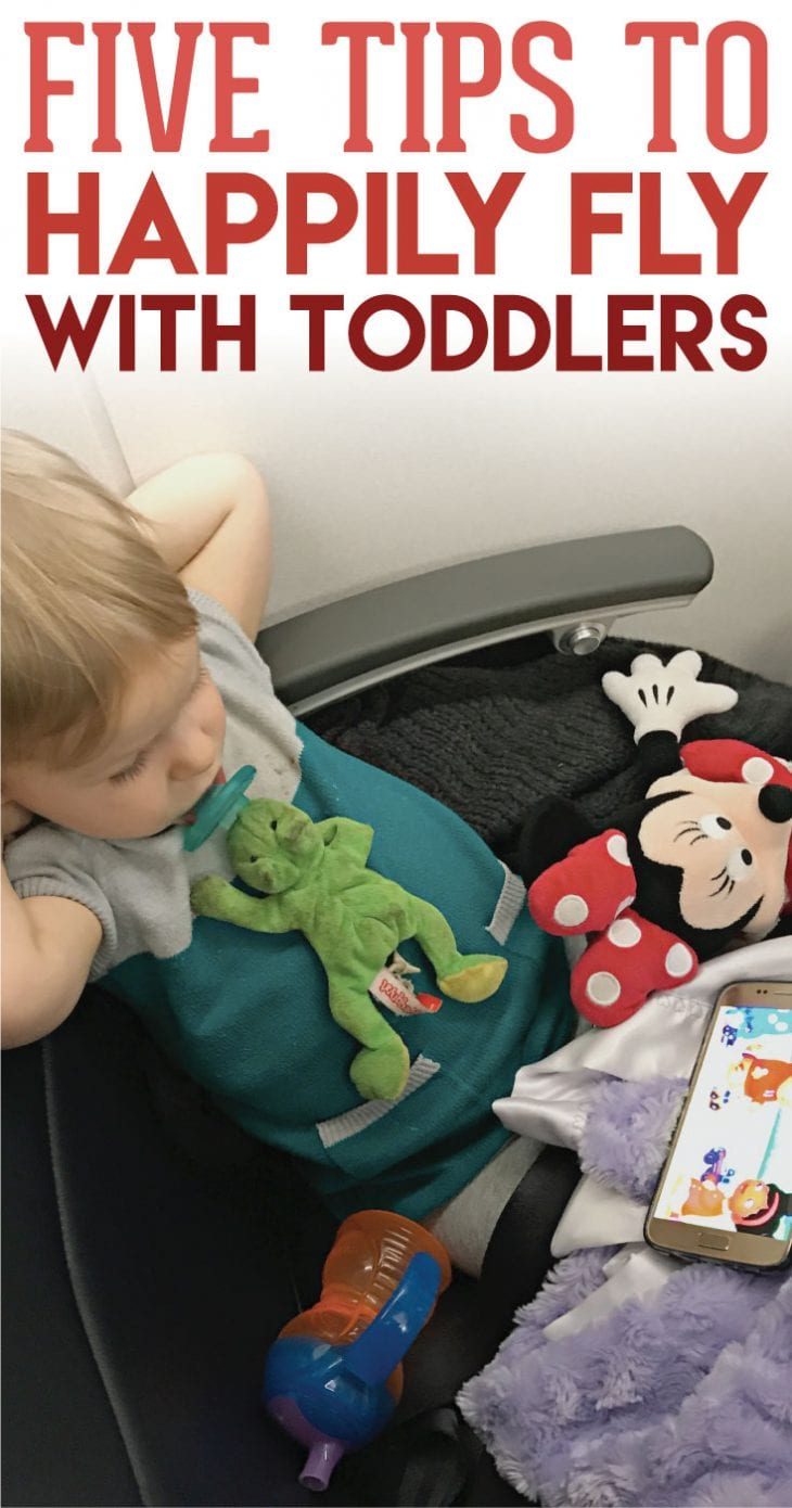 5 Tips to Fly with a Toddler — It doesn't have to be stressful or nerve-wrecking if you're prepared and ready to FLY!