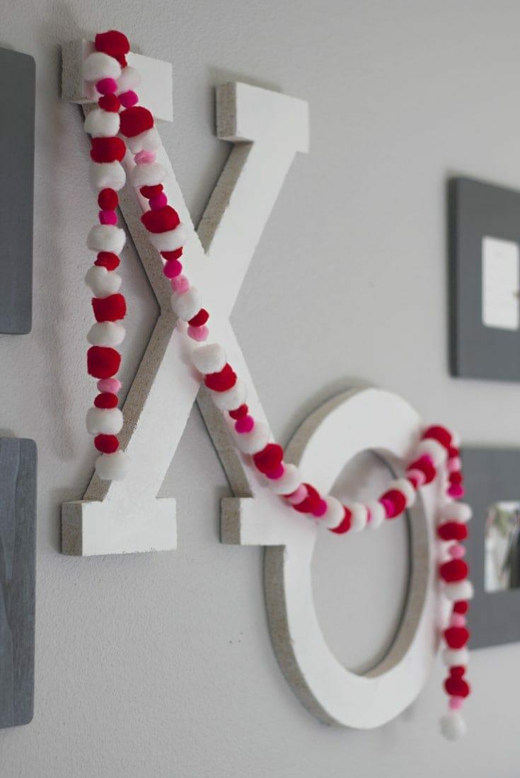 XO Valentine DIY Decor | Creative Project | Home Decor
