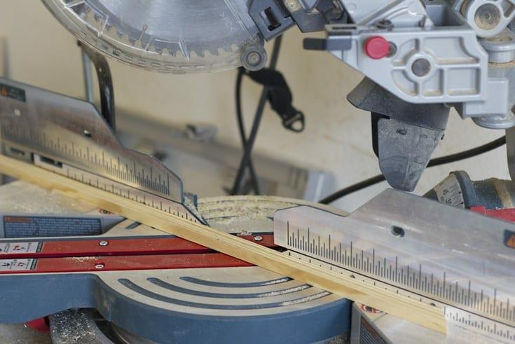 Cutting wood image.