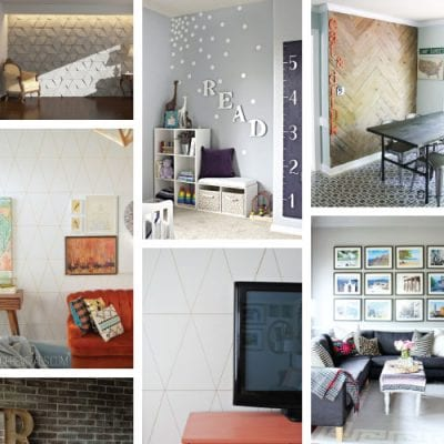 11 Inspiring Ways to Make a Feature Wall without Paint