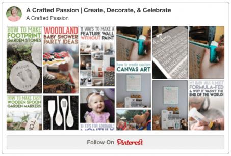 Pinterest - Follow Me