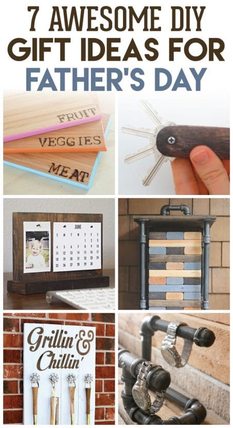Surprise dad with one of these amazing DIY gift ideas for Father's Day! These creative ideas are great to make with your kids!