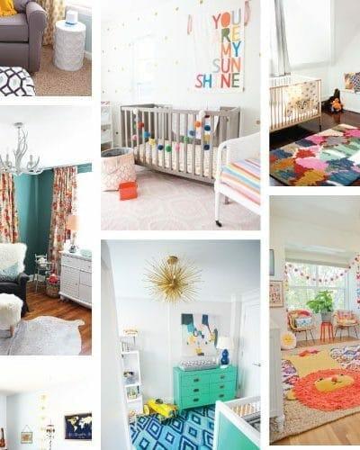 15 Adorable Colorful Nursery Ideas