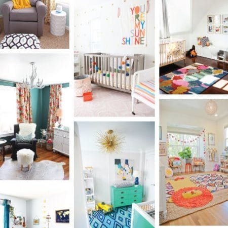 15 creative and colorful nursery ideas