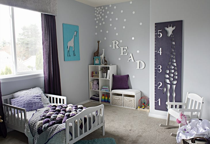 Child's Montessori bedroom.
