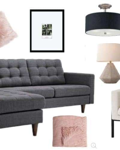 A crafted passion where busy moms find inspiration to for Modern living room mood board