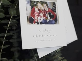7 Beautiful Christmas Card Ideas for the Modern Family