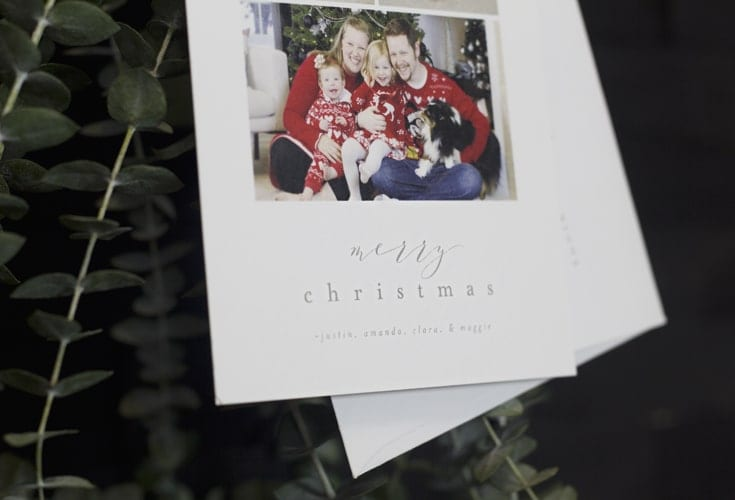 check one thing off the holiday to do list these christmas card ideas for