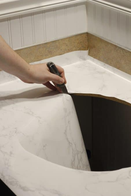 How To Make Faux Marble Countertops