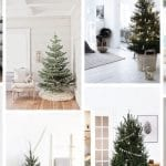 11 Minimalist Christmas Trees