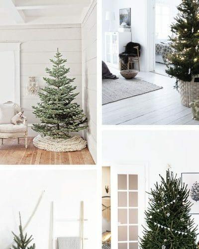 11 Minimalist Christmas Trees