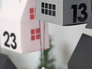 Modern Advent Calendar Ladder