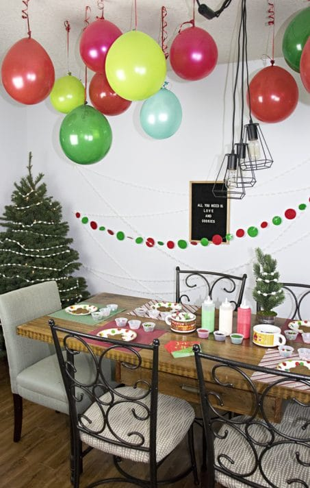 christmas decoration party ideas