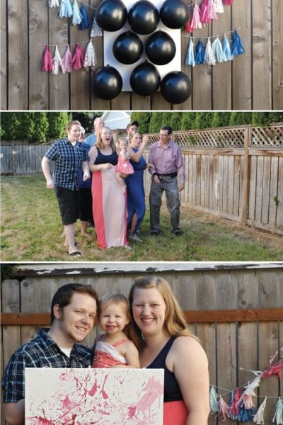 Throw a Gender Reveal with Balloons and Darts Custom