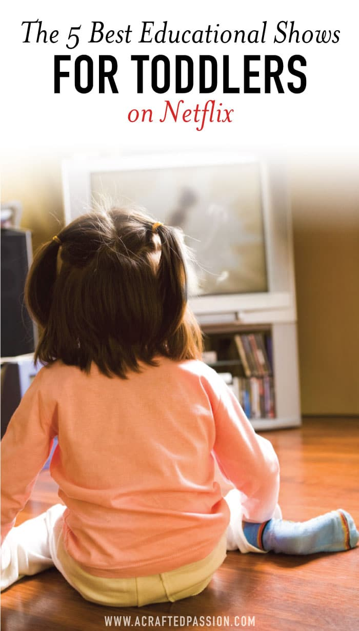 Do you find yourself about ready to lose your mind with a hyper toddler and a fussy baby on your hip counting the seconds before your husband walks through the door sometimes? Take a deep breath and then check out this fantastic list of the best shows for toddlers on Netflix. #toddlers #motherhood #kidshows