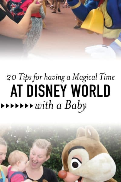 20+ Tips for Having a Magical Experience at Disney World with a Baby