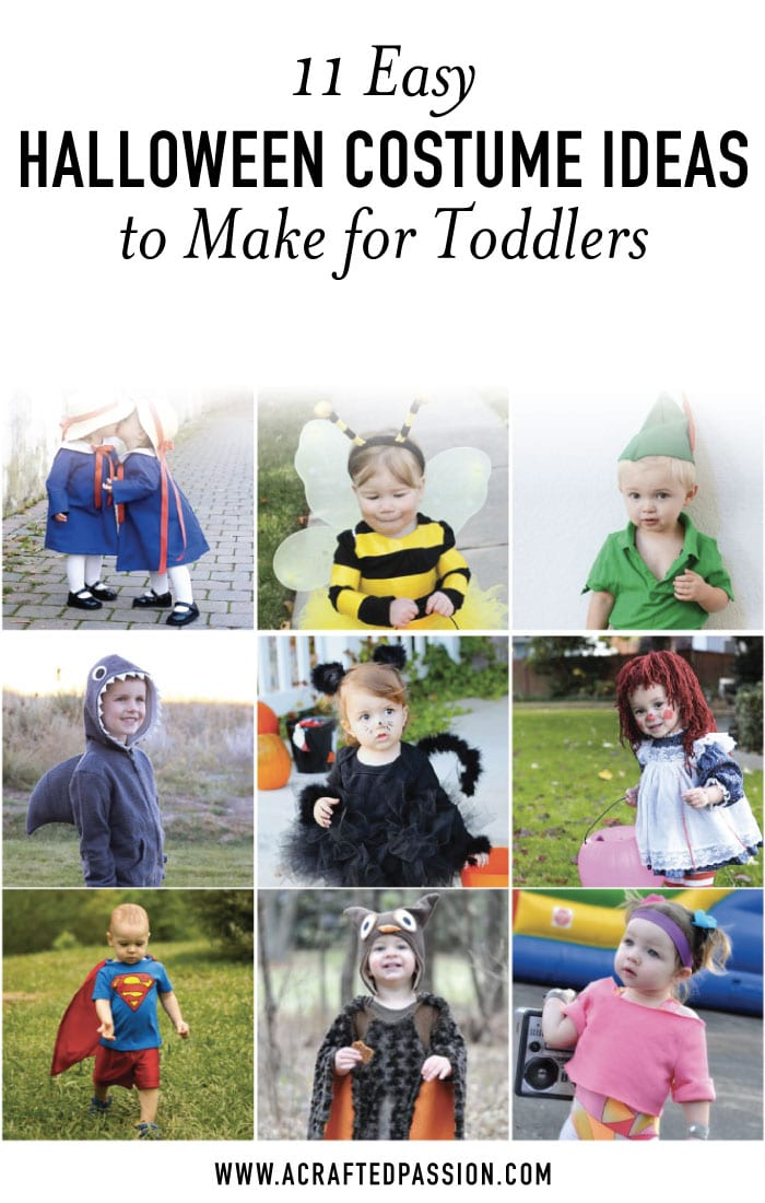 11 easy diy toddler halloween costume ideas these easy diy toddler halloween costume ideas are too cute and look so easy to make solutioingenieria Gallery
