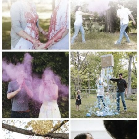 Image of gender reveal ideas.