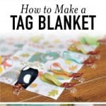 how to make a tag blanket