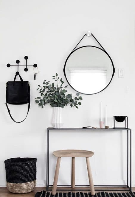 Modern Entryway Decor from Homey Oh My