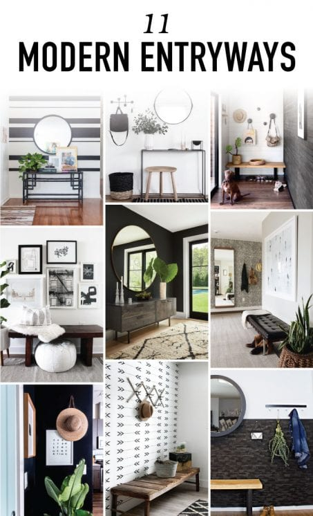 11 Modern Entryway Decor Ideas To Copy In Your Own Home