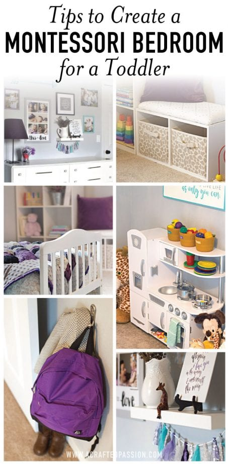 Montessori bedroom examples image.