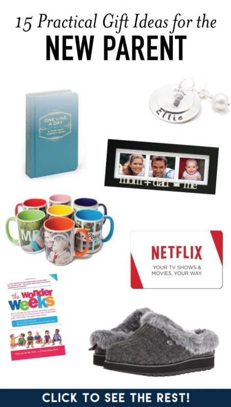 Practical gift ideas for new parents image.
