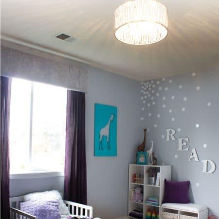 Toddler bedroom image.