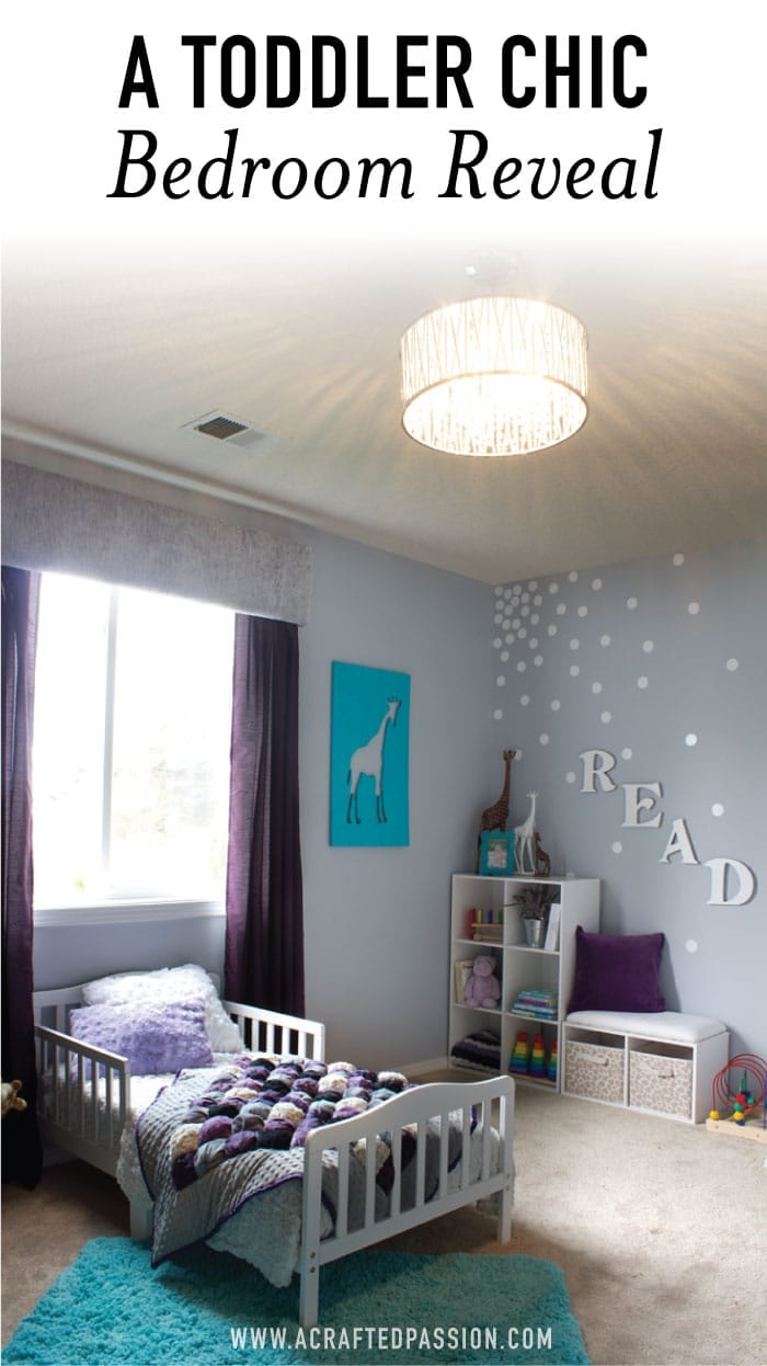 This Montessori room makeover filled with many DIY decor and is a perfect inspiration for toddler girl room ideas. #bedroom #toddlergirl #bedroom #kidroom