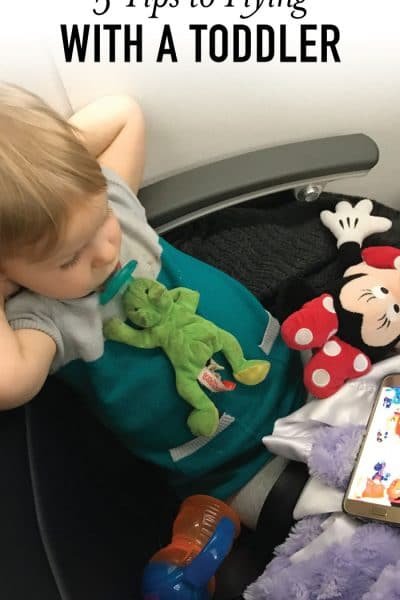 5 Tips to Successfully Fly with a Toddler