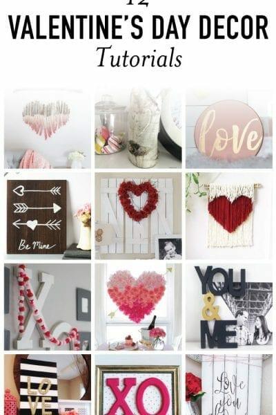 12 Valentine's Day DIY Decor