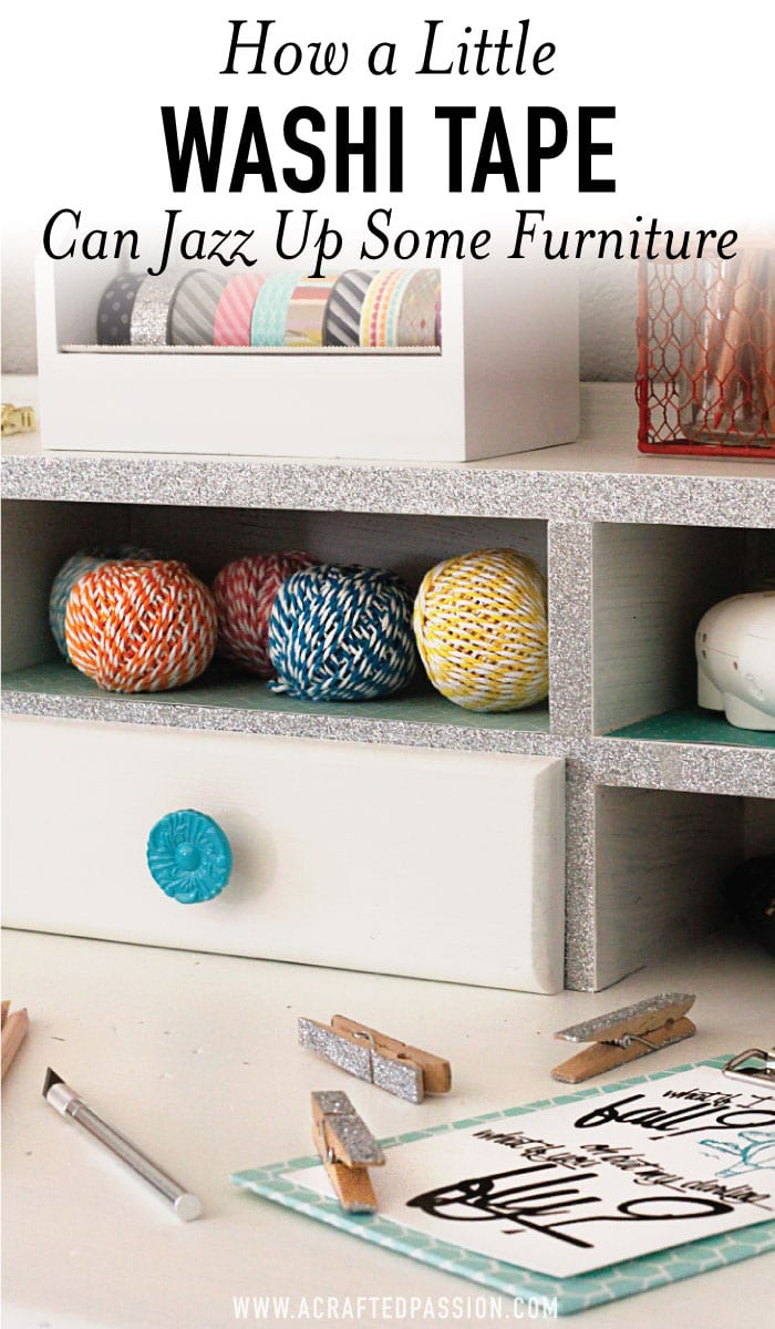 Charmant Add Some Washi Tape On Furniture For Some Simple Flair. Find This Plus 5  Other