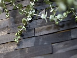 How to Create a Dramatic Wood Shims Wall