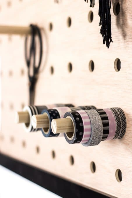 Pegboard washi tape image