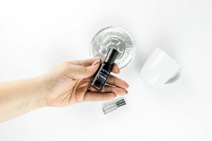Image of nail polish for marble mugs