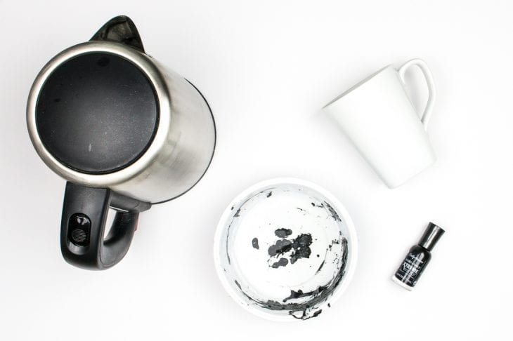 Image of marble mug supplies