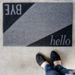 DIY Modern Door Mat