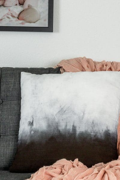Make This DIY Ombre Dye Pillow