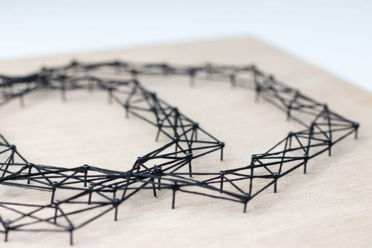 Image of string art