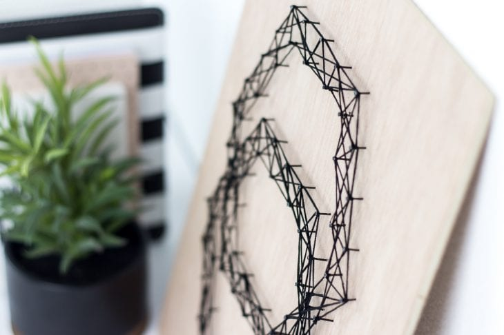 Image of string art