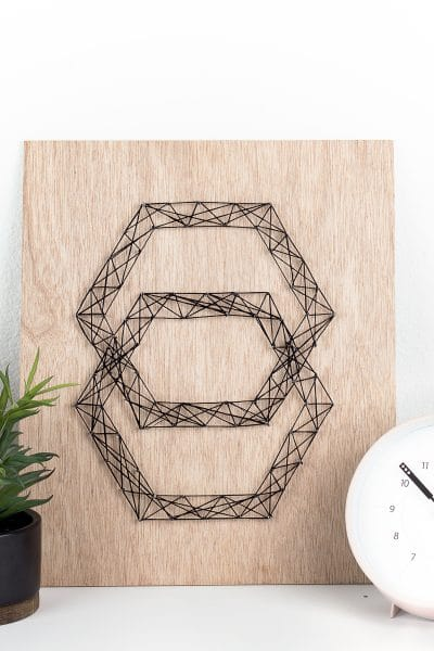 DIY Modern String Art