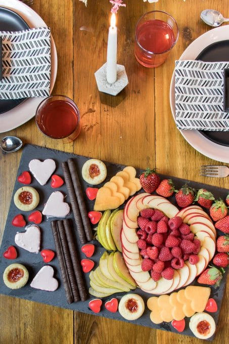 Fruit and dessert spread image