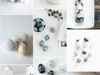 11 Modern Easter Egg Decorating Ideas