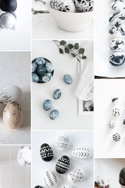 11 Modern Easter Egg Decorating Ideas