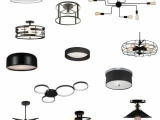 12 Modern Flush Mount Ceiling Lights