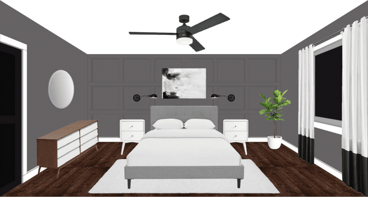 Master Bedroom render image